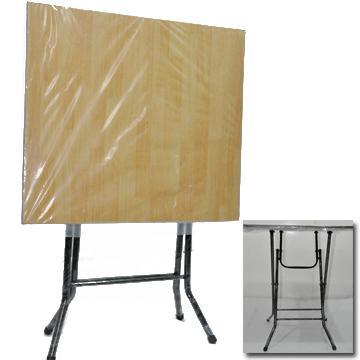 laminated folding table square 2 seater mc home depot