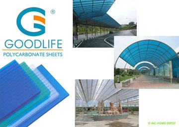 Polycarbonate Roofing Sheet Mc Home Depot