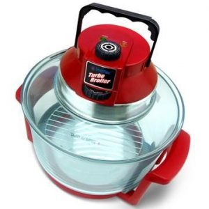 Turbo Broiler W/glass Pot