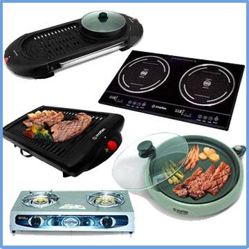 Electric/Gas Stoves and Grillers