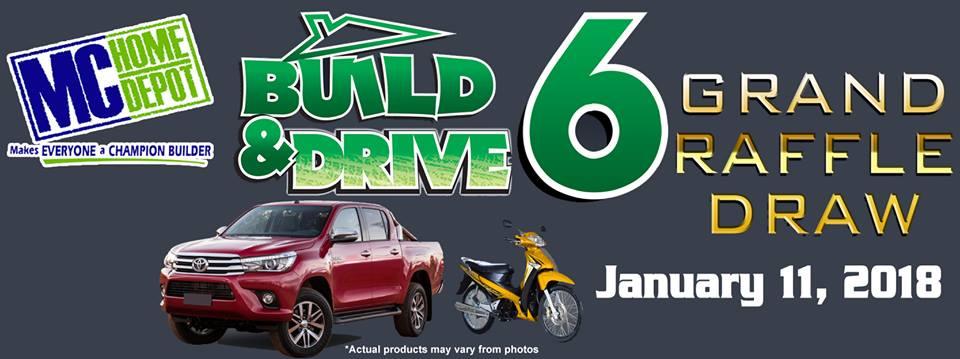 MC Home Depot Build & Drive 6 Raffle Winners