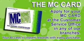 Shop For Homebuilding And Construction Materials At Mc Home Depot