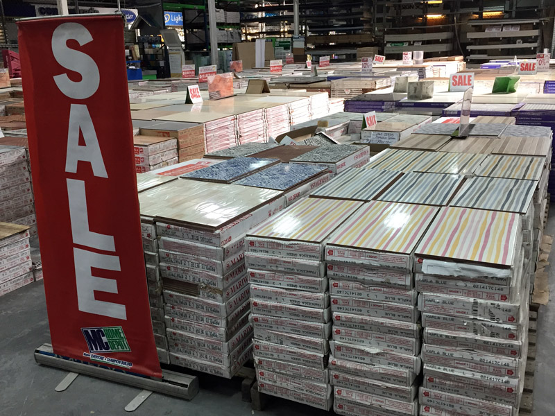 MC Home Depot All About Tiles Sale