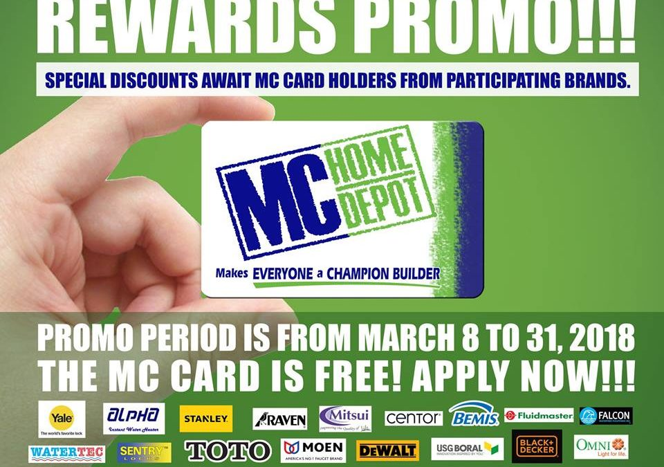 MC Card Holder Rewards Promo