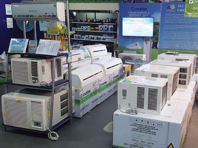 Trade in your old air-conditioners for a discount on a new Imarflex Air Conditioner