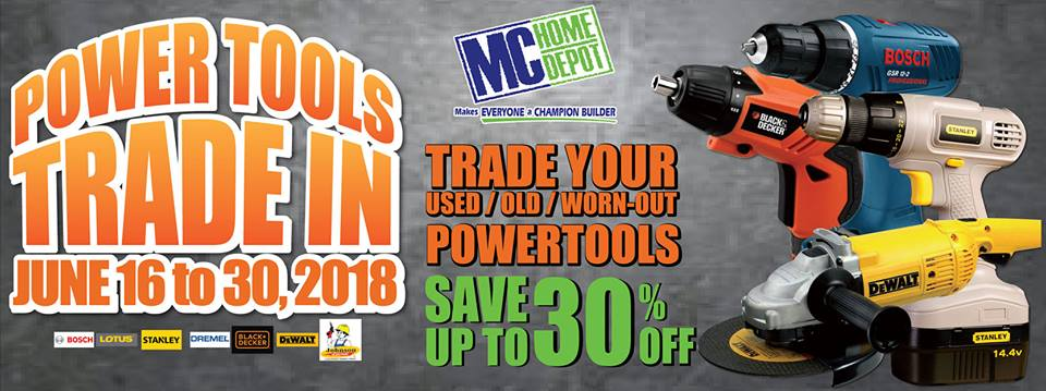 MC Home Depot Power Tools Trade In