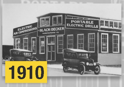 Stanley Black & Decker 1910
