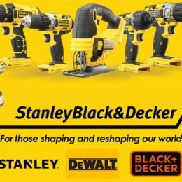 Stanley Black & Decker – For those shaping and reshaping our world