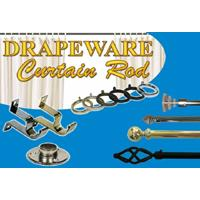 Drapeware Curtain Rods
