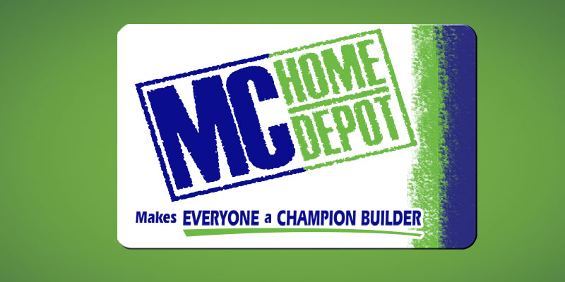 MC Home Depot Membership Card MVP