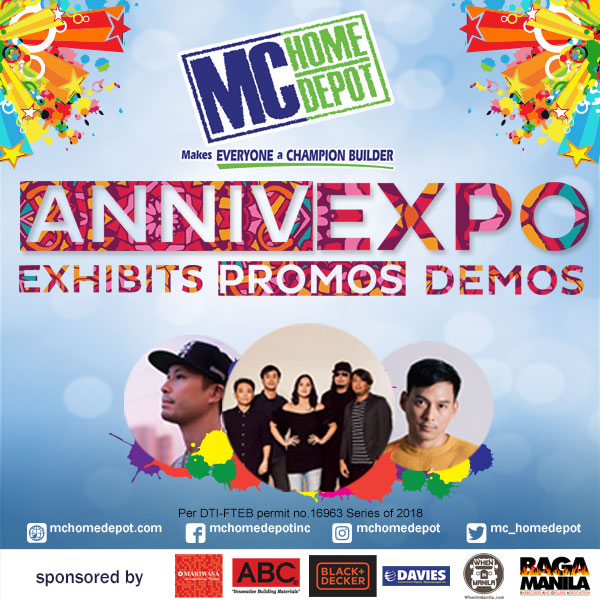 MC Home Depot Anniv Expo