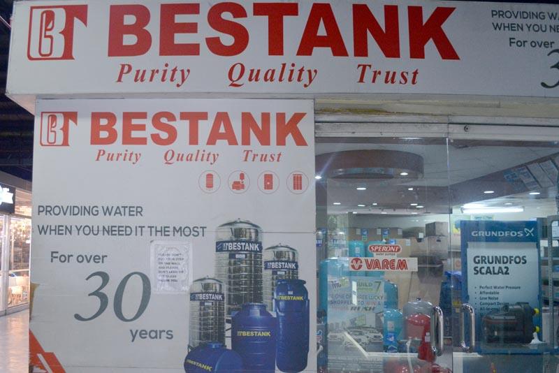 MC Home Depot Tenant: BESTANK Manufacturing Corp