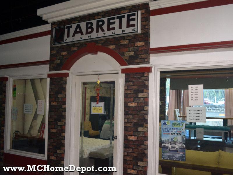 Tabrete Furniture MC Home Depot Ortigas