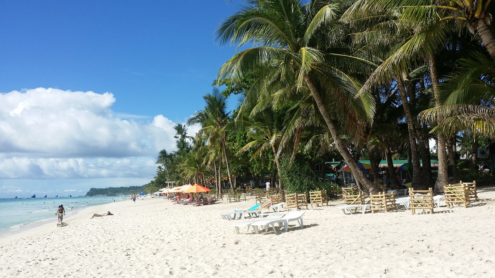 The island of Boracay