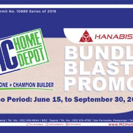 MC Home Hanabishi Bundle Blast Promotion
