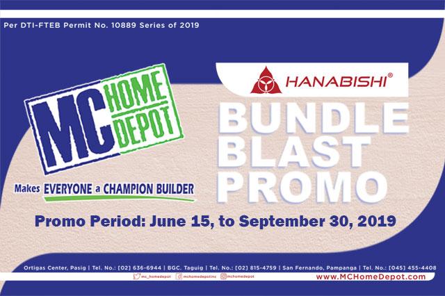 MC Home Hanabishi Bundle Blast Promotion