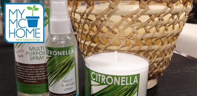Citronella Candles and Multi-Purpose Sprays
