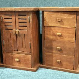 Mini-Wooden Aparadors Storage Cabinets