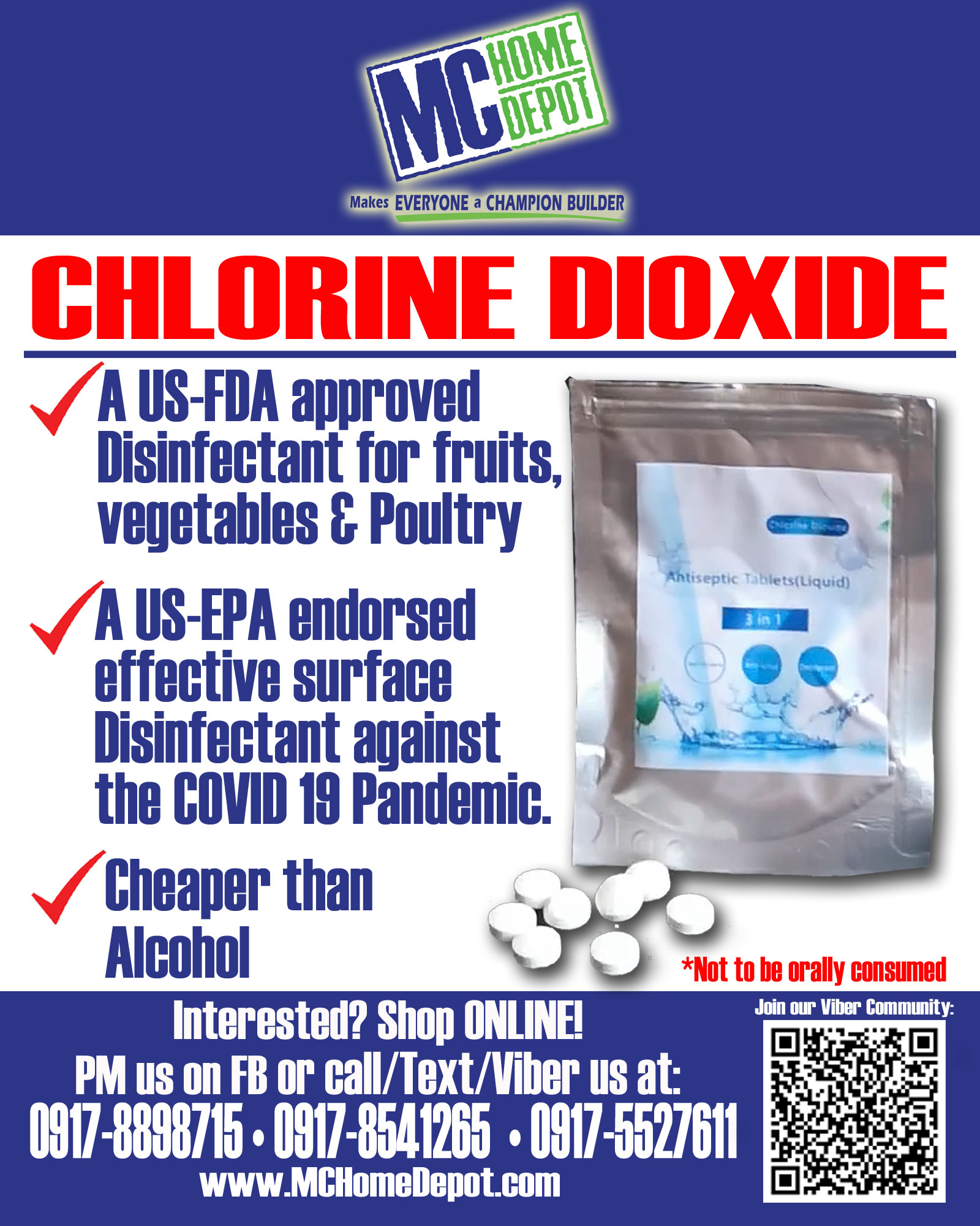 The truth about Chlorine Dioxide