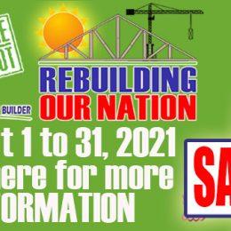 MC Home Depot Sale: Rebuilding our Nation – August